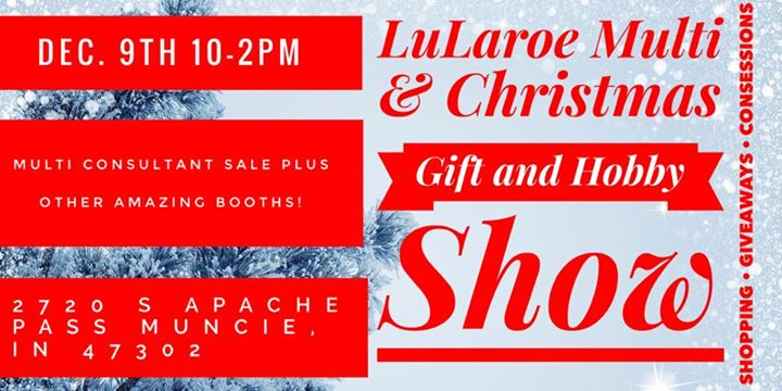 lularoe multi gift and hobby show at new hope church muncie - Christmas Gift And Hobby Show