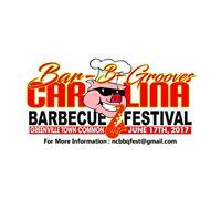Official 2nd Annual Carolina BBQ Festival Bar-B-Grooves