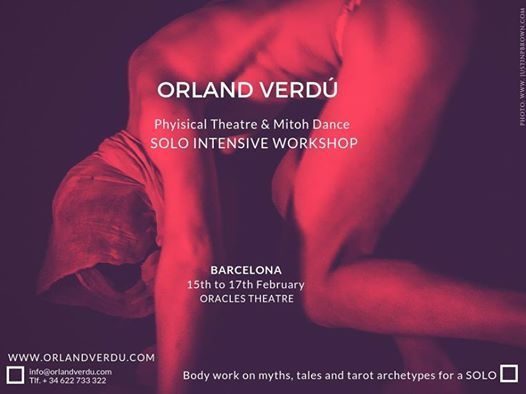 Physical Theatre & Mitoh Dance - Solo Intensive Workshop