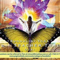 2018 Kundalini Yoga Teacher Training Level One Ojai