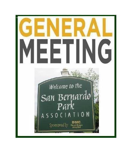 San Bernardo Park Association General Meeting