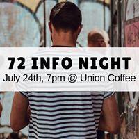 72 Info Night