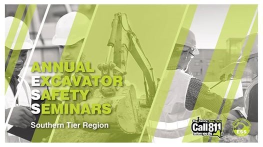 Southern Tier Region Excavator Safety Seminar 2019