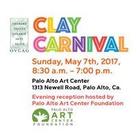 Clay Carnival at the Palo Alto Art Center
