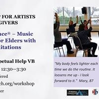 ArtistCaregiver Workshop Anyone Can Dance (R)