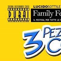 3 Pezzi Comici x Family Festival - Dubai Planet
