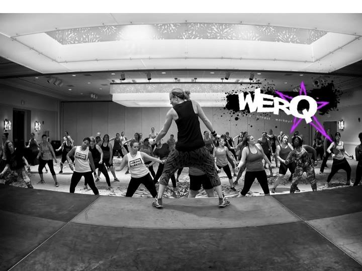 SweatworkingWeek WERQ Class with Haley Stone