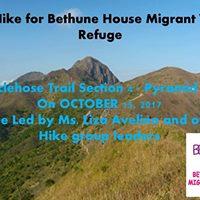 Charity Hike for Bethune House Migrant Women Refuge