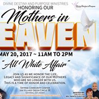 Honoring Our Mothers In Heaven Brunch