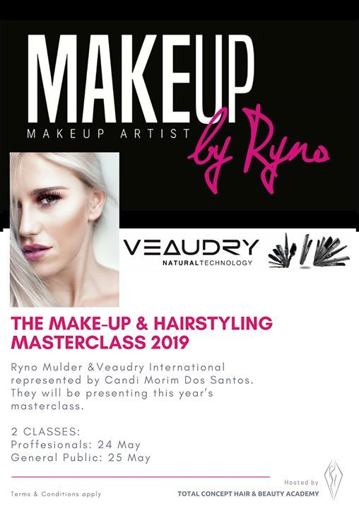 Make Up Hair Masterclass 2019 Port Elizabeth