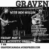 Graven and Ben Mullin at The Acoustic Grill