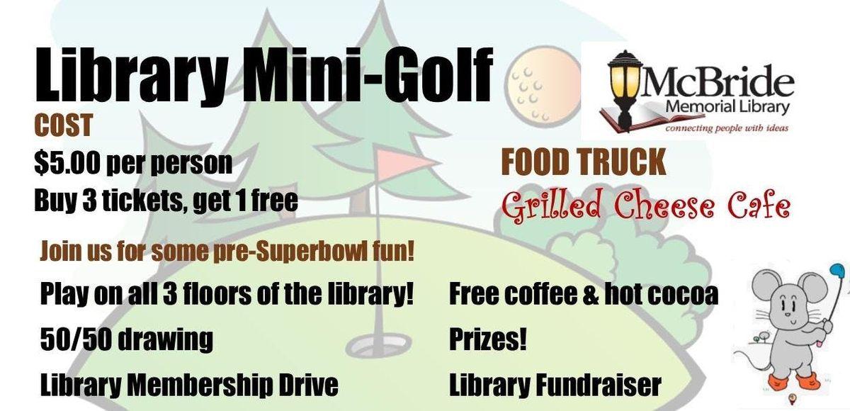Library Mini Golf