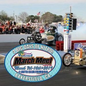 Good Vibrations Motorsports March Meet presented by Lucas