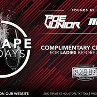 Escape Fridays  6.30.17  Proof Rooftop Lounge