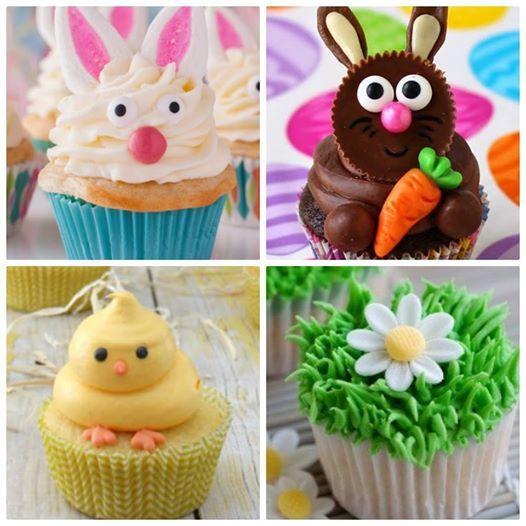 Easter Cupcake decorating Class