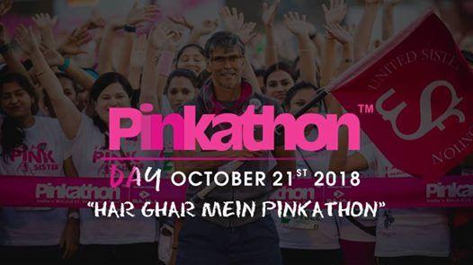 Pinkathon Day- Bengaluru Jeevan Bhima Nagar