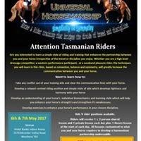 Universal Horsemanship clinic Tasmania