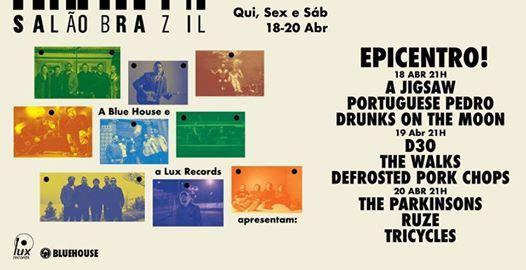 Blue House & Lux Records apresentam Epicentro