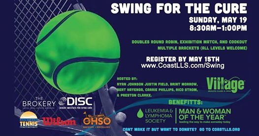 Swing for the Cure! Benefits the Leukemia & Lymphoma Society
