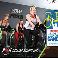 Spin &amp Yoga Fundraiser for Team PUSH