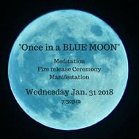 BLUE MOON Eclipse Fire Ceremony