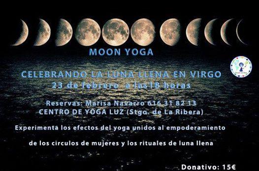 Moon Yoga- luna llena en Virgo
