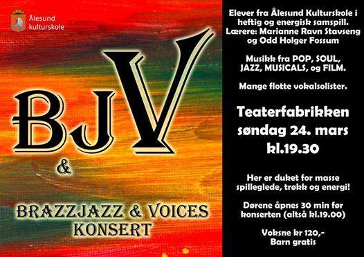 Brazzjazz & Voices konsert