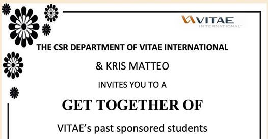 kris mateo a gathering of vitaes former sponsored students at