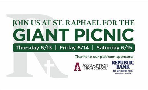 St  Raphael Giant Picnic | Louisville