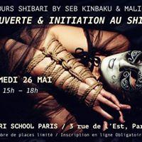 Dcouverte &amp Initiation au Shibari avec Seb Kinbaku &amp Malice