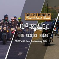 DBBR 8th Anniversary Ride