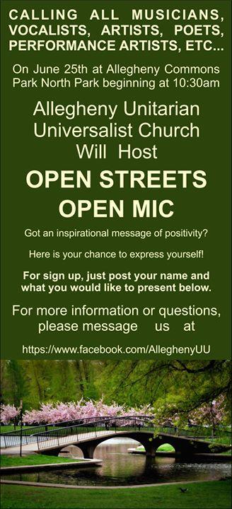 Open Streets Open Mic