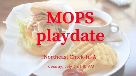 Mops Playdate Chick Fil A El Paso