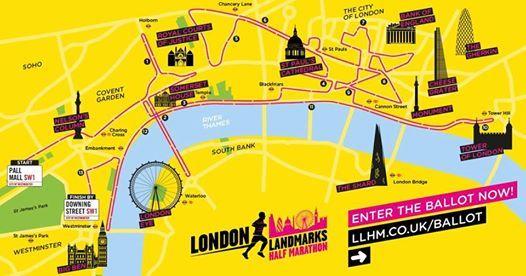 London Landmarks Half Marathon 2019