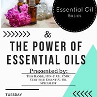 The power of Essential oils class