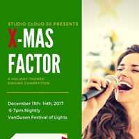 X-MAS Factor Holiday Singing Competition