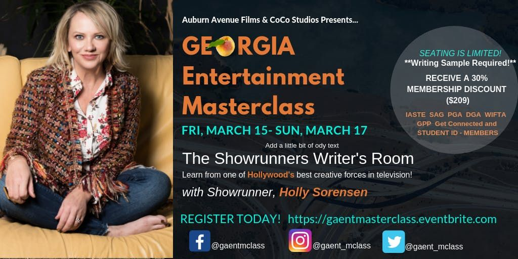The Showrunners Writers Room with Holly Sorensen