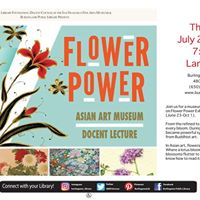 Flower Power Docent Lecture