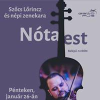 Ntaest Szcs Lrinczcel s npi zenekarval