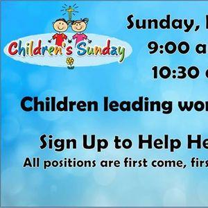 Childrens Sunday