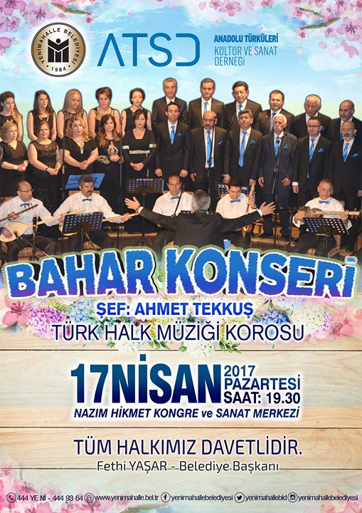 Bahar Konseri At Yenimahalle Belediyesi Nazim Hikmet Kultur Ve