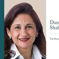 Dame Minouche Shafik at the Oxford Union