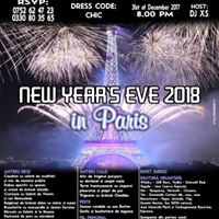 NEW YEARS EVE 2018 in Paris