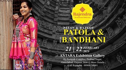 Patola & Bandhani Exhibition by Rajendra
