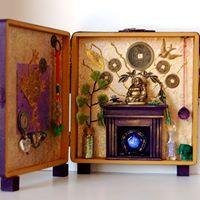 Arts &amp Wellness Class  Cigar Box Altars