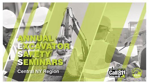 Central NY Region Excavator Safety Seminar 2019