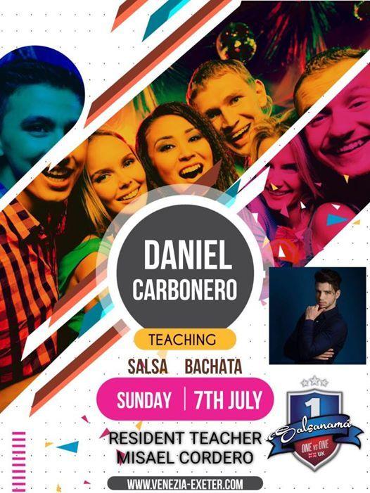 Daniel Carbonero at Venezia Exeter 7th July