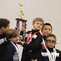 Gold Medal Boys Gymnastics Invite
