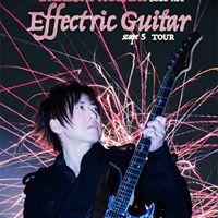 Takeshi Honda solo act Effectric Guitar scape5 tour