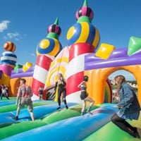 The Worlds Biggest Bouncy Castle at Dreamland